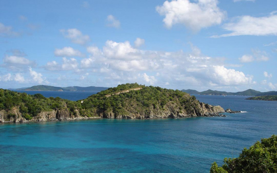 VIEW TO PRIVATEER POINT & NORMAN ISLAND