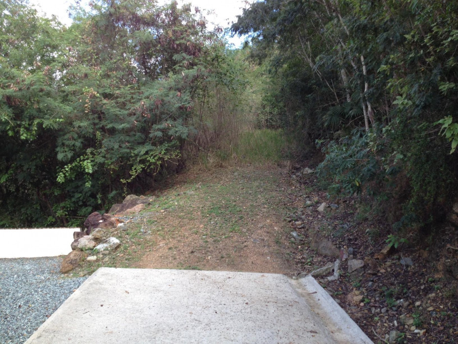 Access to top of property
