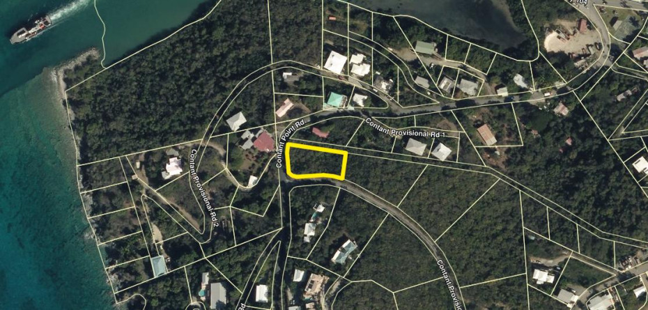 Location of Parcel 15A-1 Contant