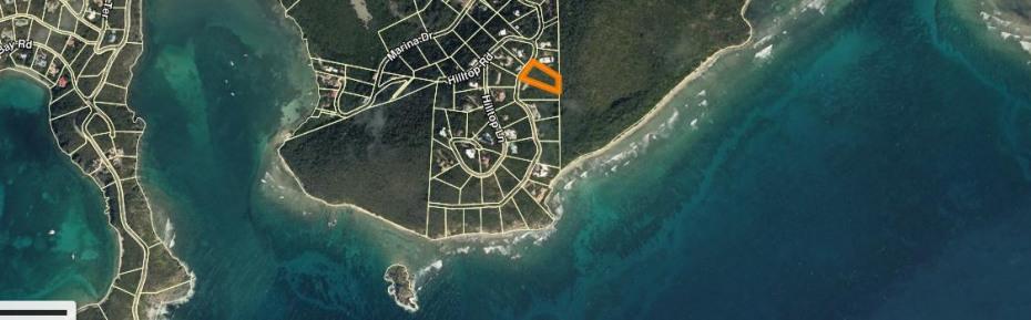 Location of Parcel 117 Fish Bay