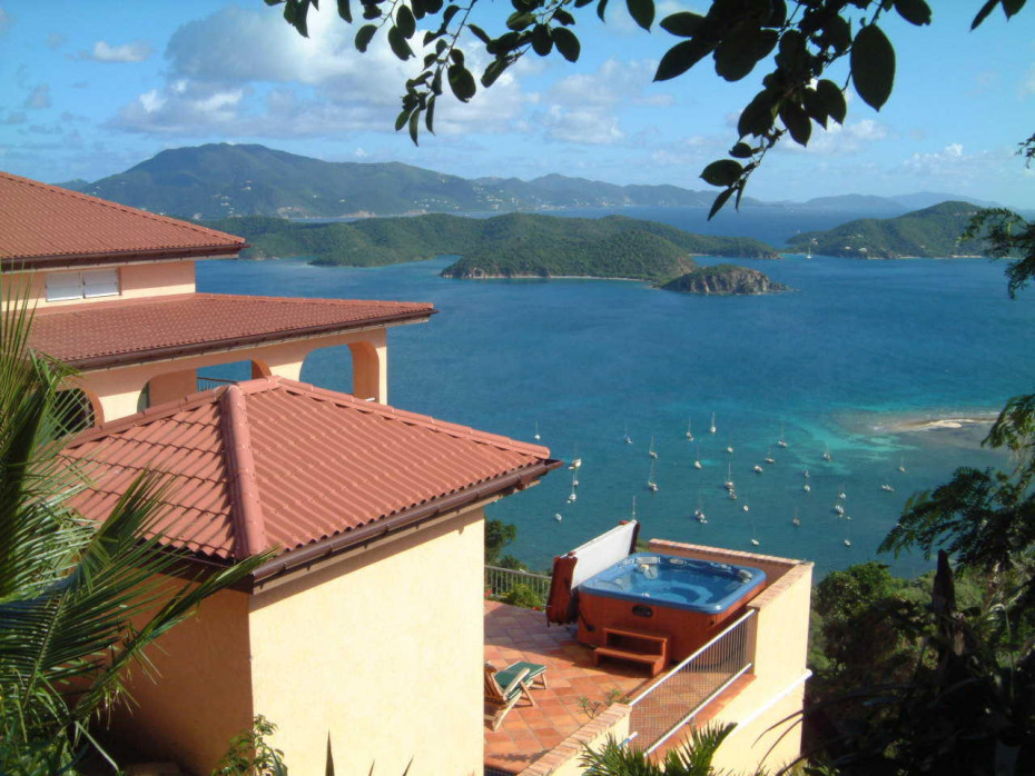 Villa Ventosa spa and view
