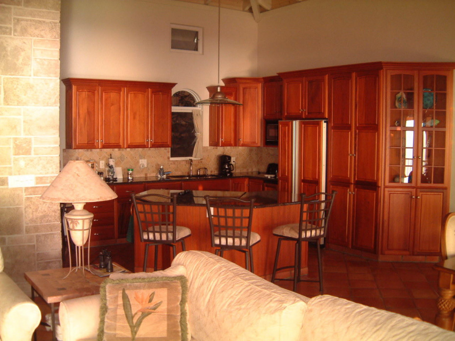 Villa Ventosa Great room Kitchen Area