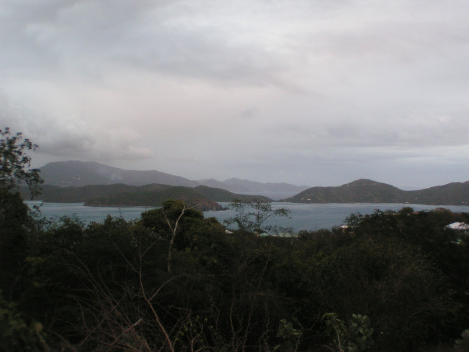 Views of Coral Bay and the BVI's