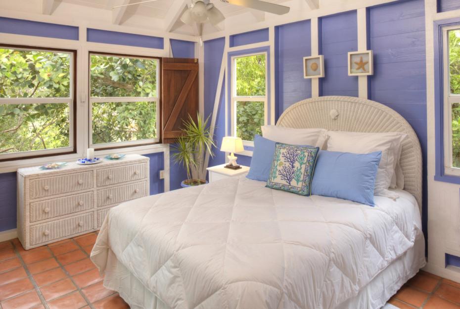 Florian Blue Bedroom
