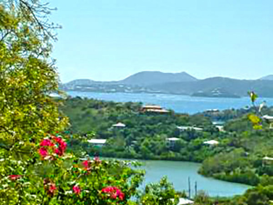 views of Hart Bay, St. Croix & St Thomas