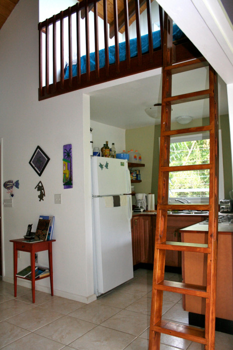 Kitchen and Loft Bedroom