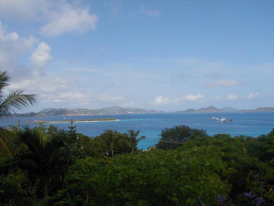 Views from site of Pillsbury Sound