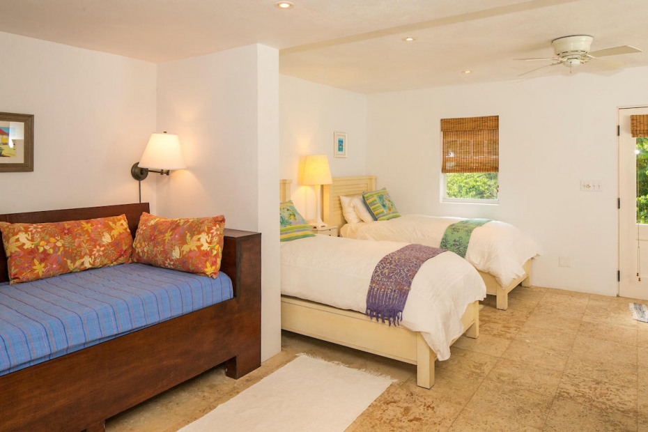 Twin bedded lower suite