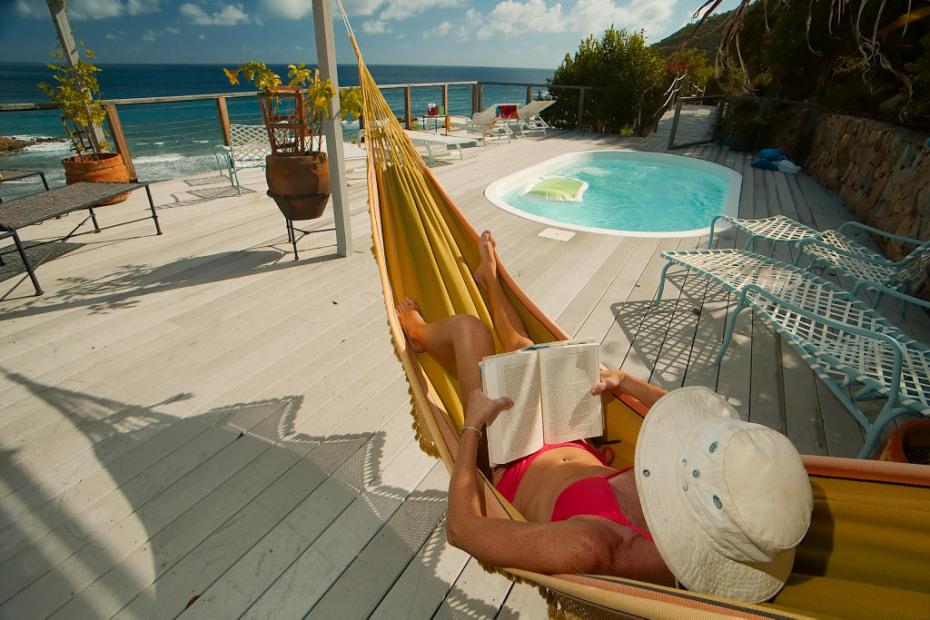book-hammock