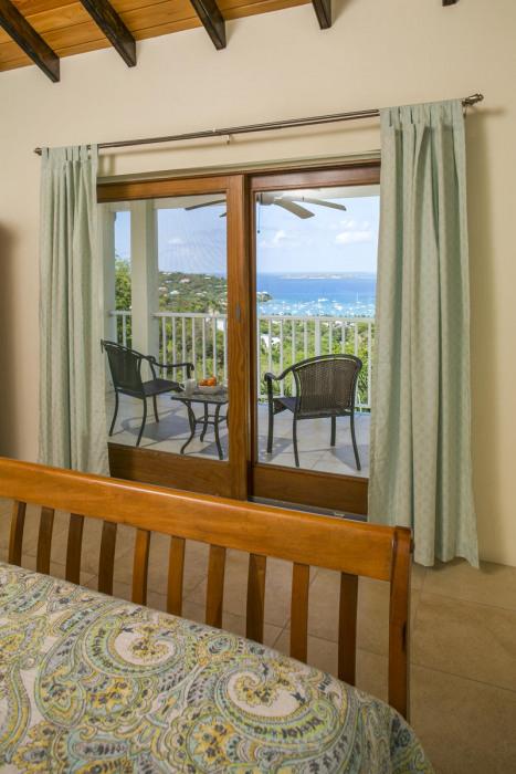 Balcony outside of master bedroom