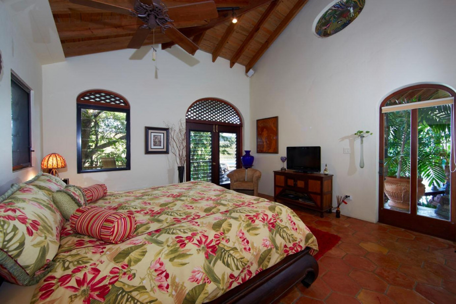 Views form 2nd bedroom west wing