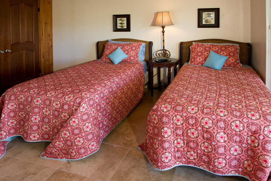 Lower level Twin Beds