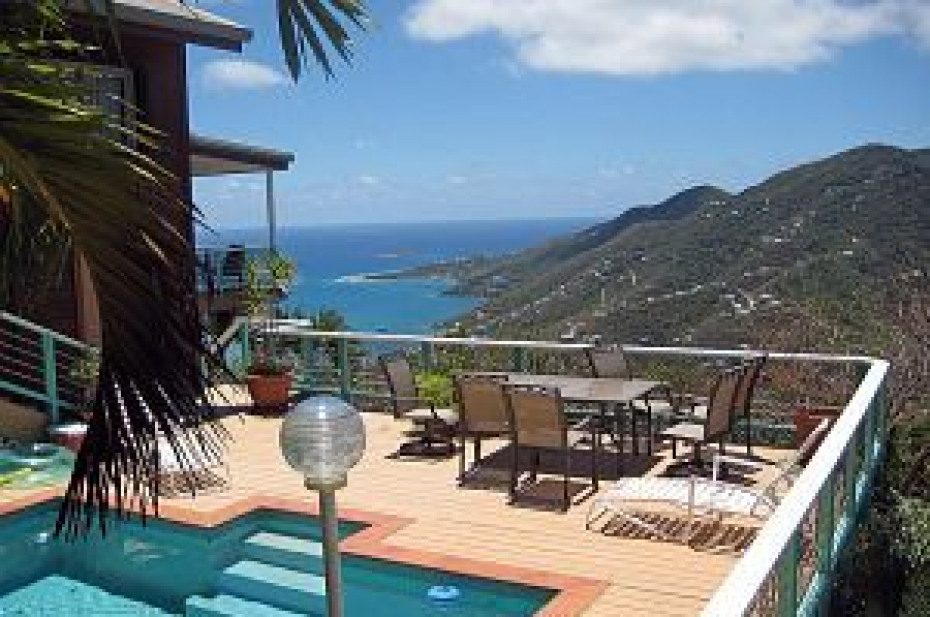 DeBolina pool view