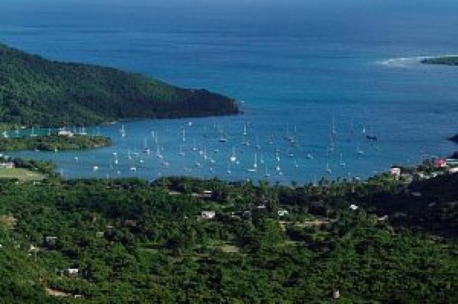 Coral Bay Harbor view