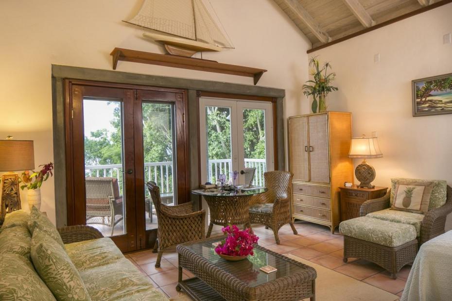 Guest Suite Sitting Area Upper