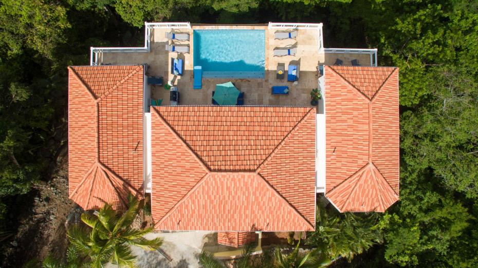 Aerial pool