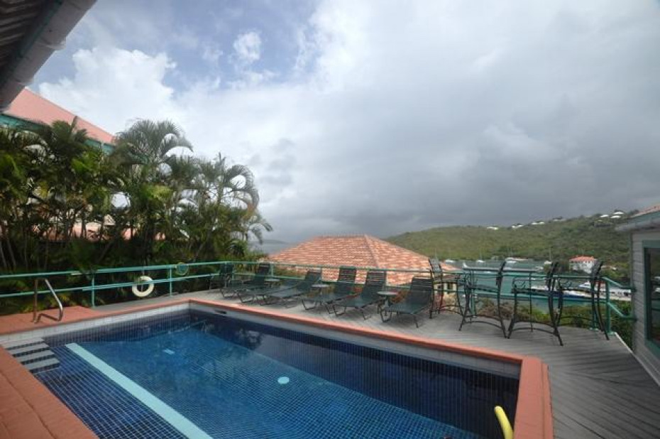 BH A-1 Pool and Harbor View