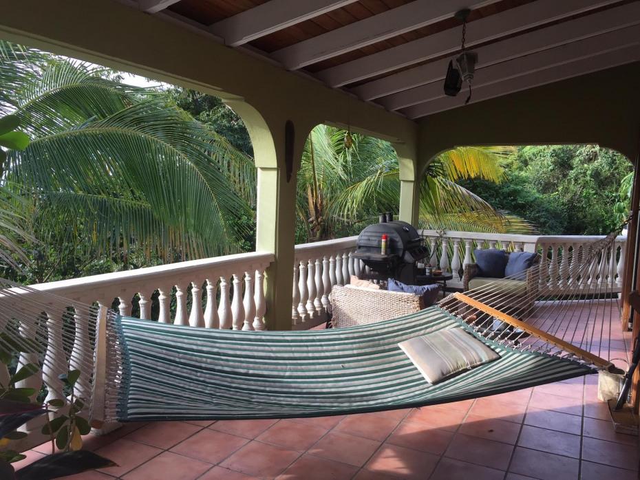 upper deck area