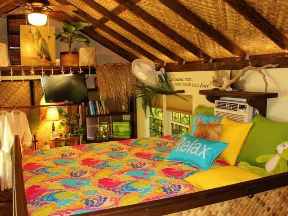 Coconut King bed