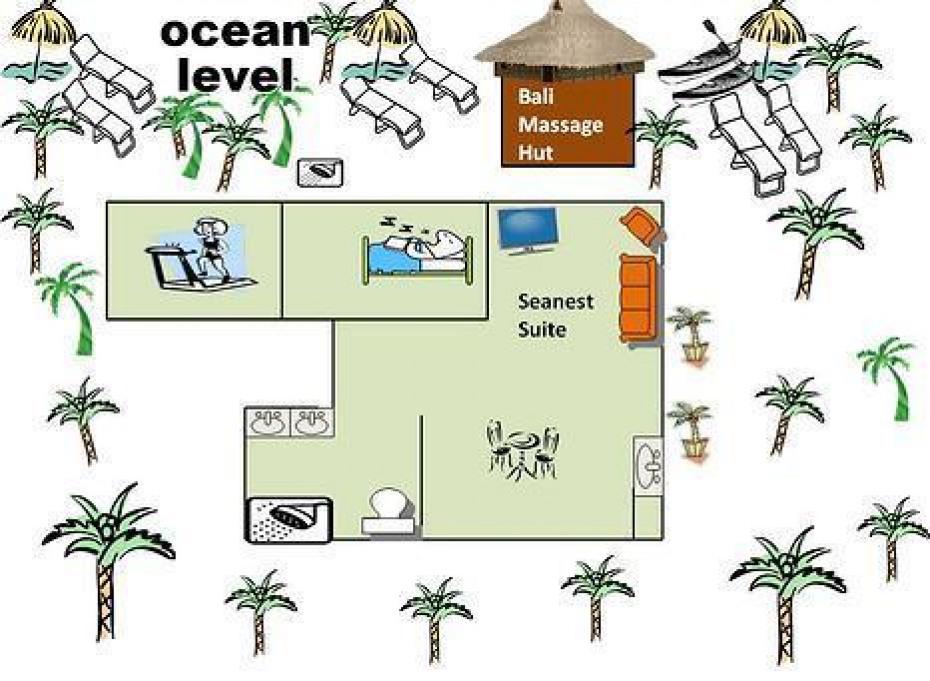 Floorplan Ocean level