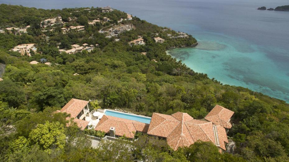 Aerial Peter Bay