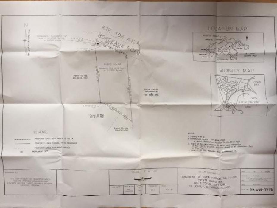 Island Cottage Survey Map