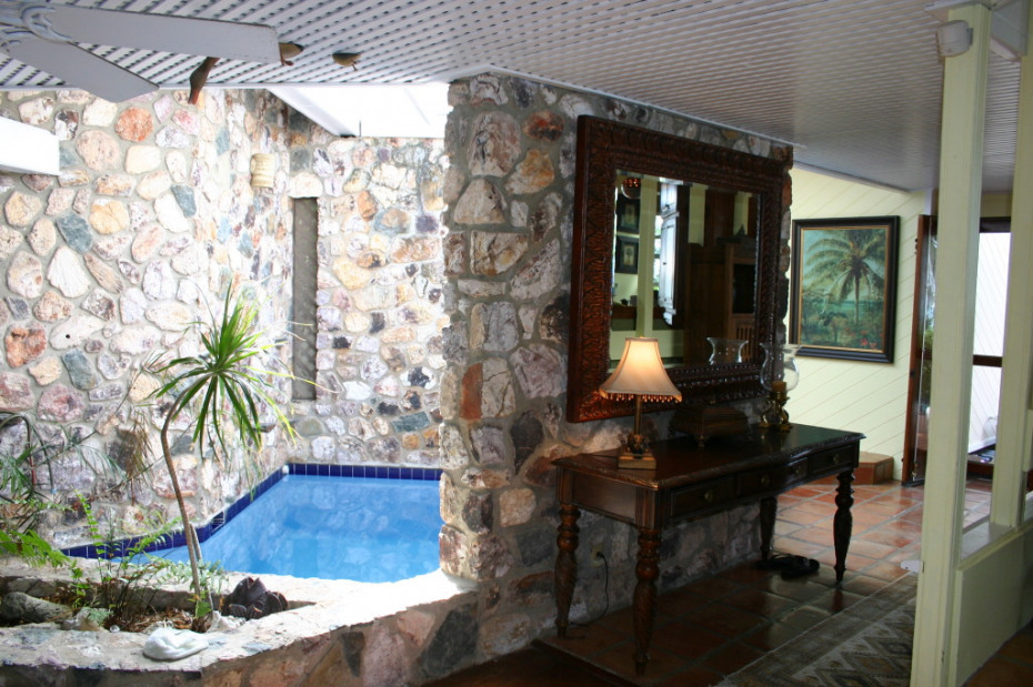Exotic Tropical Indoor Pool