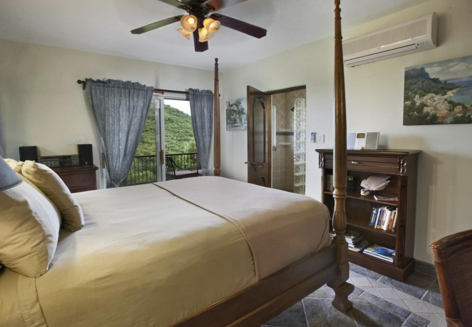Air conditioned bedrooms, total privacy