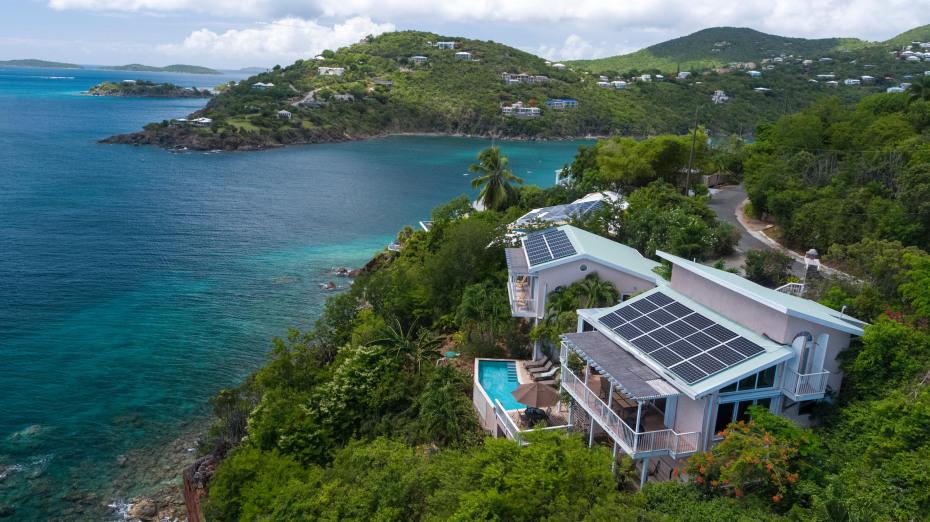 Villa Belvedere in Great Cruz Bay