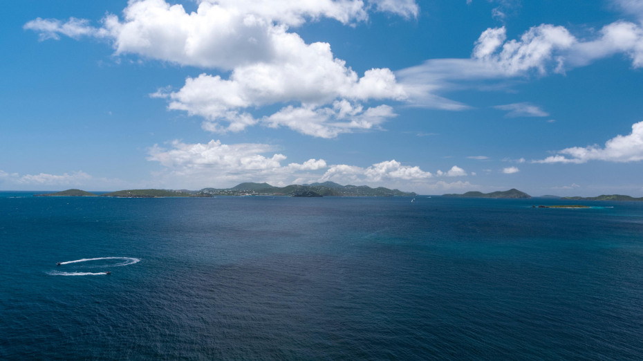 Wide open Caribbean Sea