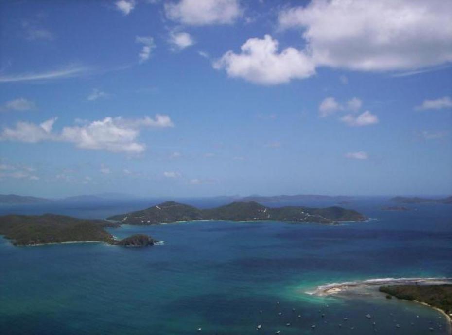 View of Johnson Reef & beyond