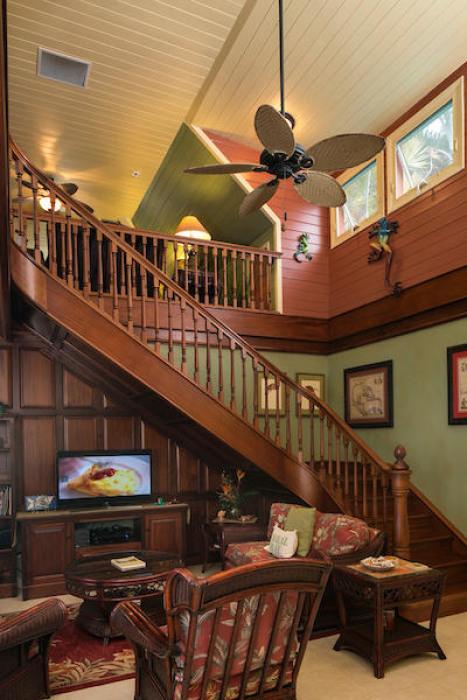 007 Custom staircase