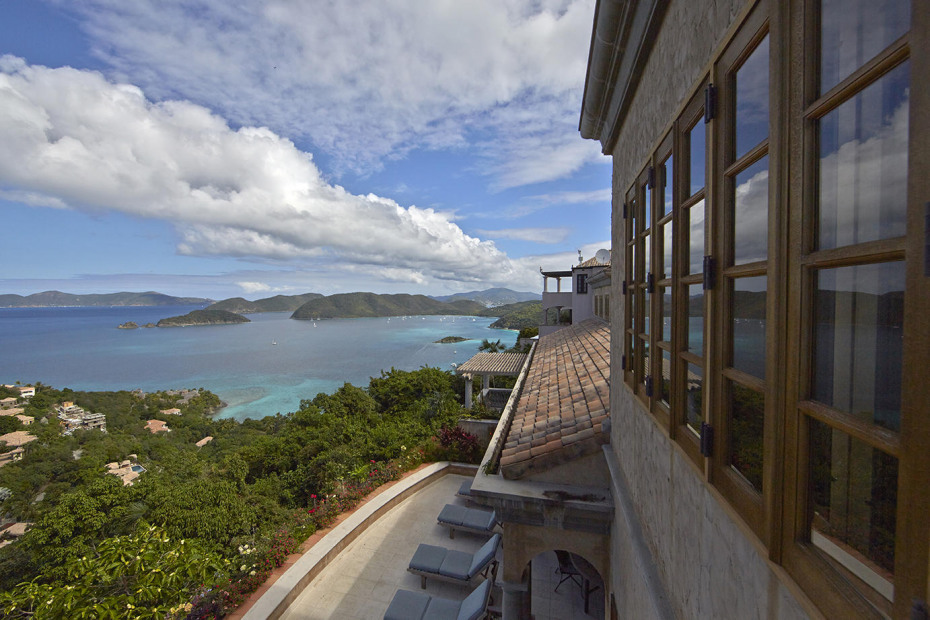 Master suite with a view to Tortola