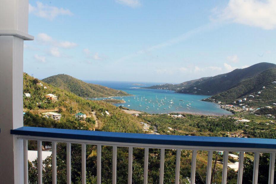 Upper Porch View