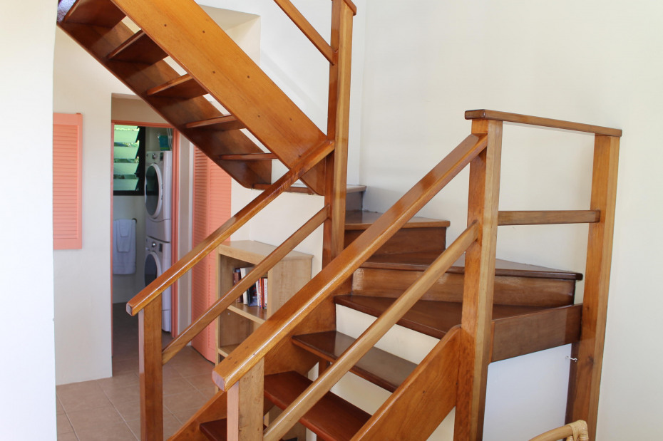 Staircase to Loft Bedroom