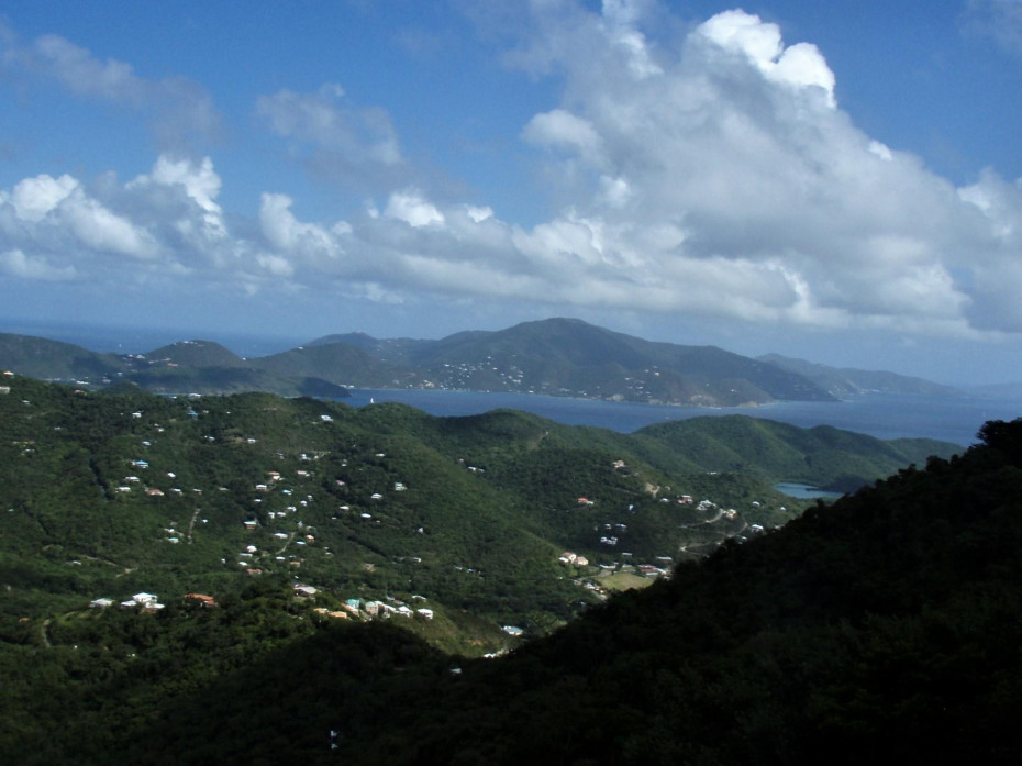 View of Tortola