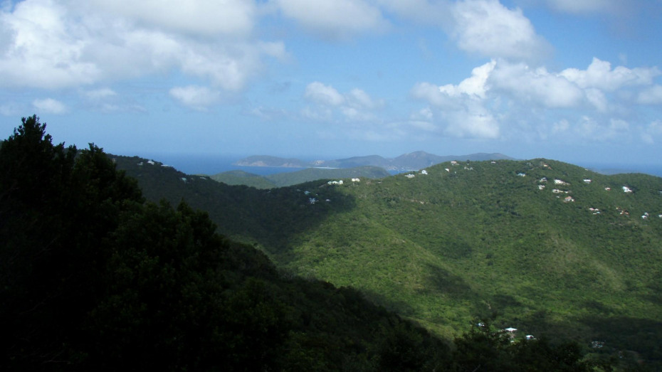 View to Jost Van Dyke