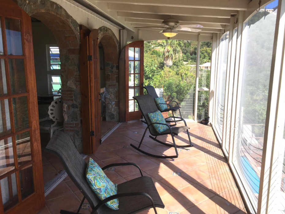 UPPER PATIO VIEW