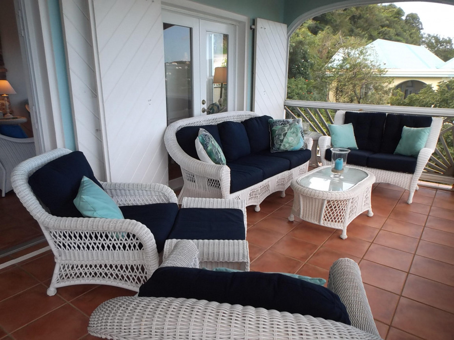 Upper Porch Sitting Area