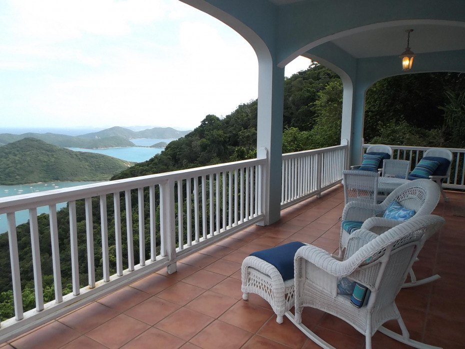 Lower Porch Views