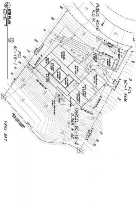PROPOSED SITE PLAN & TOPO