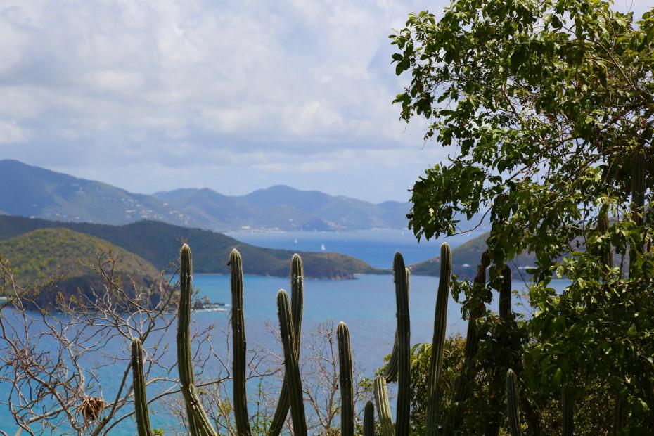 View of Tortola, BVI