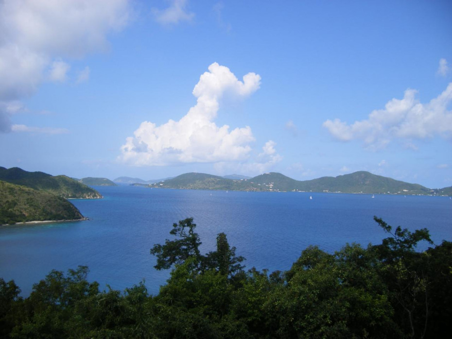 Down island and BVI View