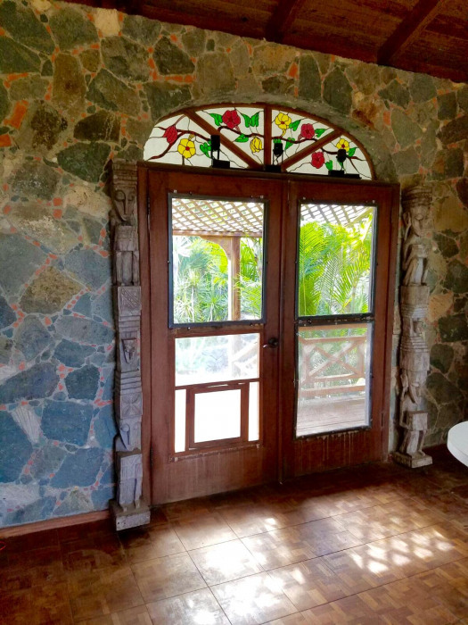 Stone Wall Entry