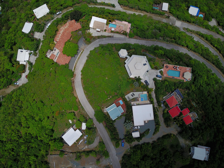 Aerial View of FLAT Land