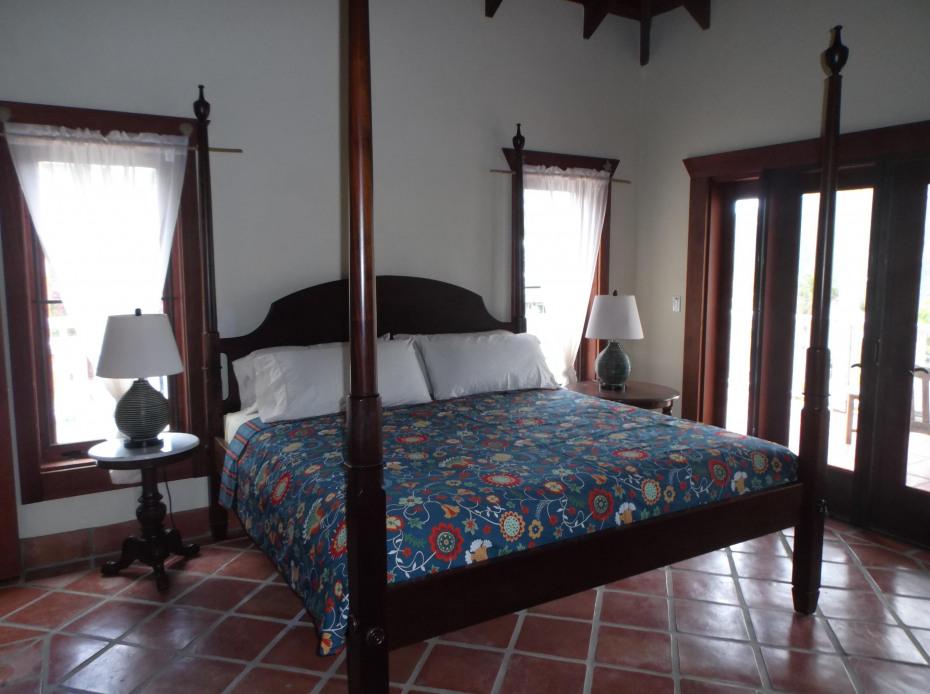 Pre Storm West Bed