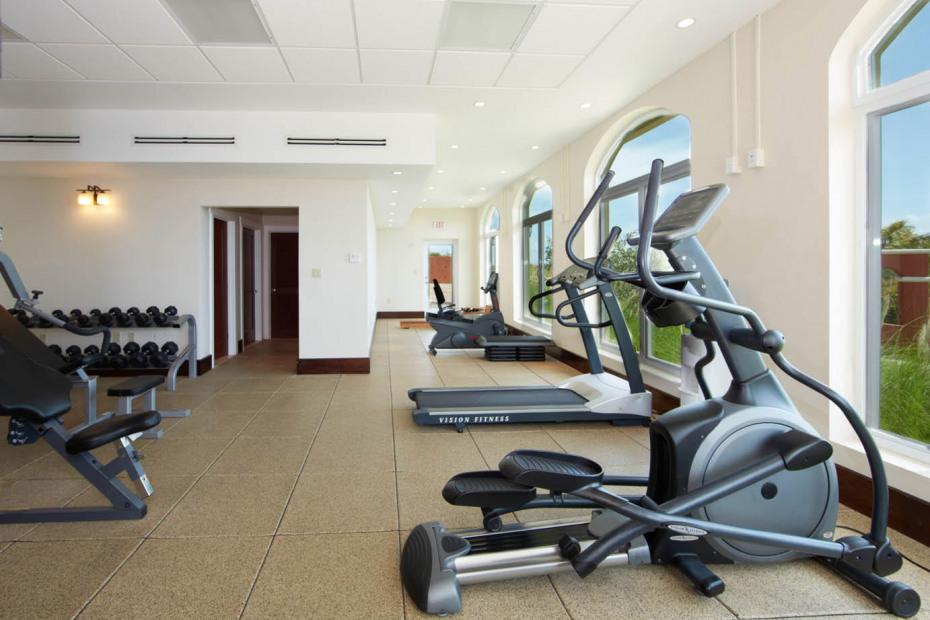 Common area gym