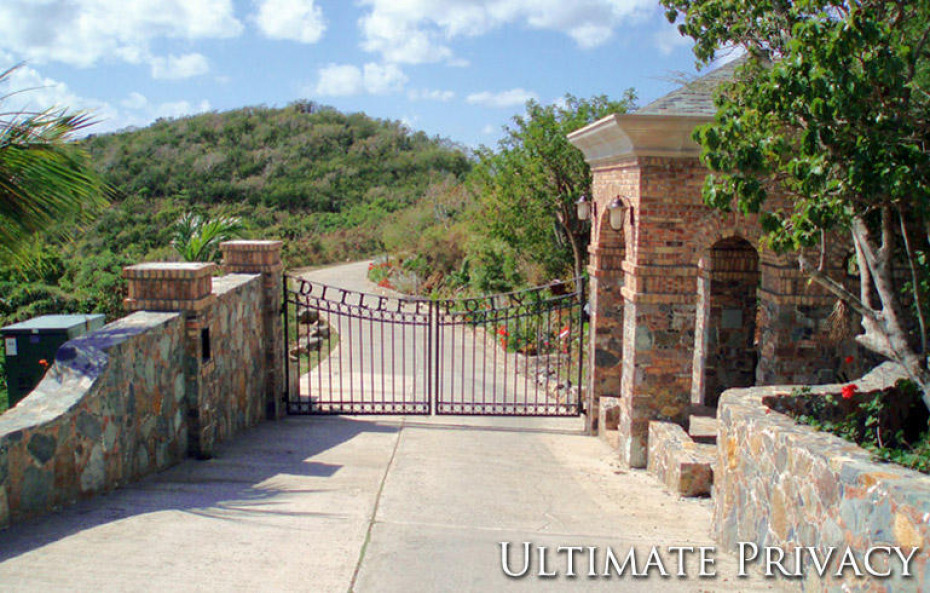 Gated Entry to Ditleff Point