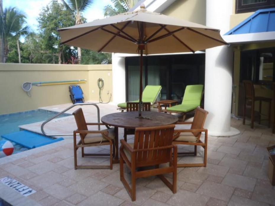 Sample pool villa