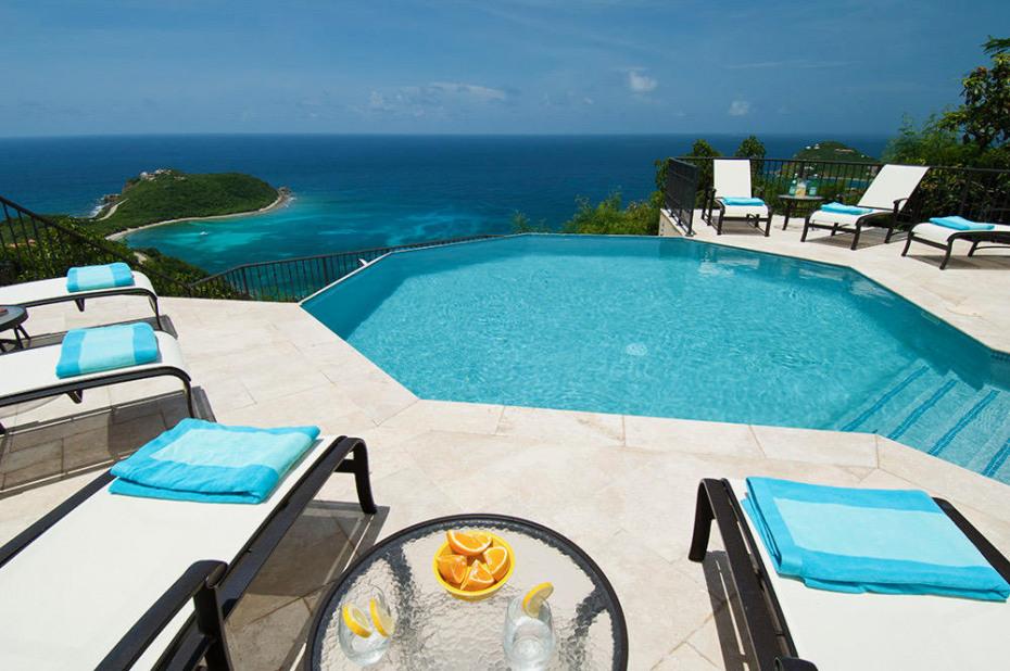 Sunny Pool Deck